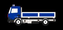 LKW-Kipper, 9 t, geländegängig (LKW K 9)